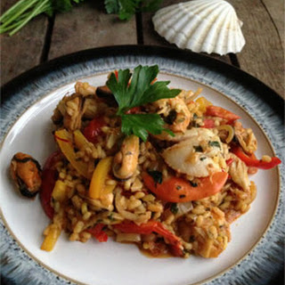 Perfect Seafood Paella