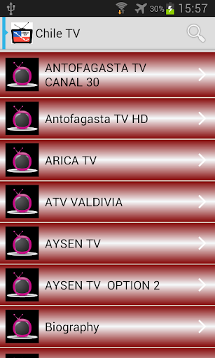 Chile Television Channels