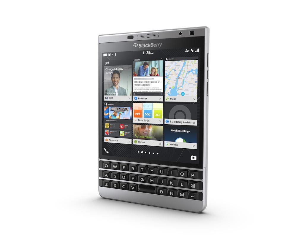 Man hinh BlackBerry Passport Silver Edition