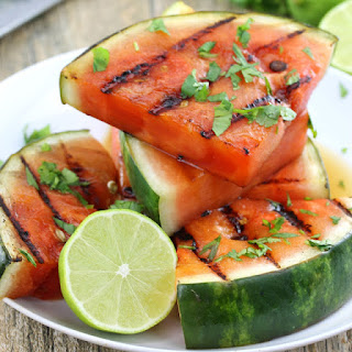 Cilantro-Lime Grilled Watermelon.