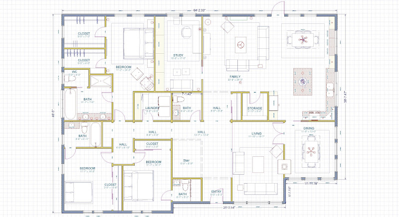 Raised ranch floor plans images frompo Raised ranch floor plans