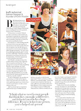 Photo: NOV 08 EW, Faces of Change article - Knit'n'Knatter charity club, founded by Buffi Jashanmal of Quiet Riot