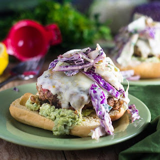 Mexican Turkey Burger.