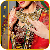 Bridal Photo Makeup Jewellery