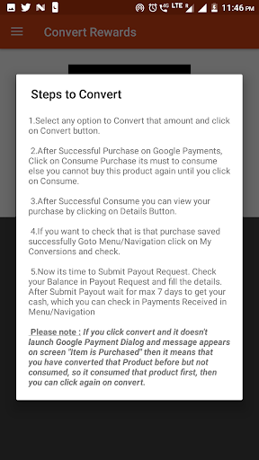 Screenshot for Rewards Converter App in United States Play Store