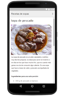 Soup Recipes For Free App - náhled