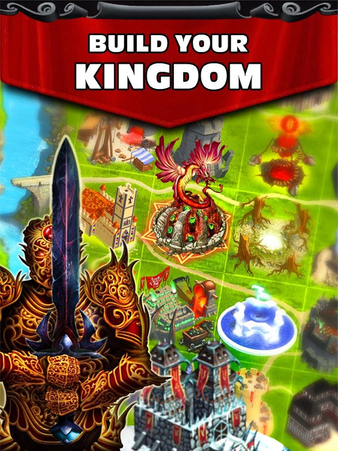 Kingdoms at War: Hardcore PVP- screenshot