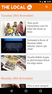 The Local - European News- screenshot thumbnail