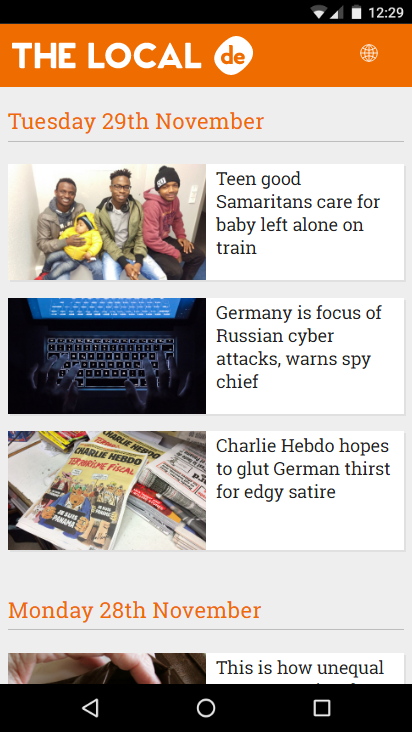 The Local - European News- screenshot
