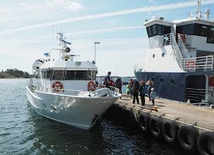 Photo: M/S Sissel lähdössä saarelle: mahtuvatko kaikki halukkaat mukaan ...