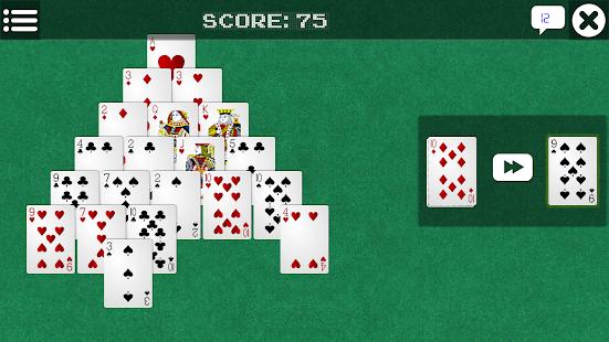 Giochi gratis solitario piramide