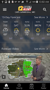 KFVS12 First Alert Weather- screenshot thumbnail