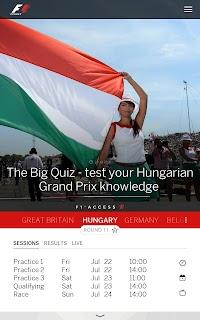 Official F1 ® App screenshot 10
