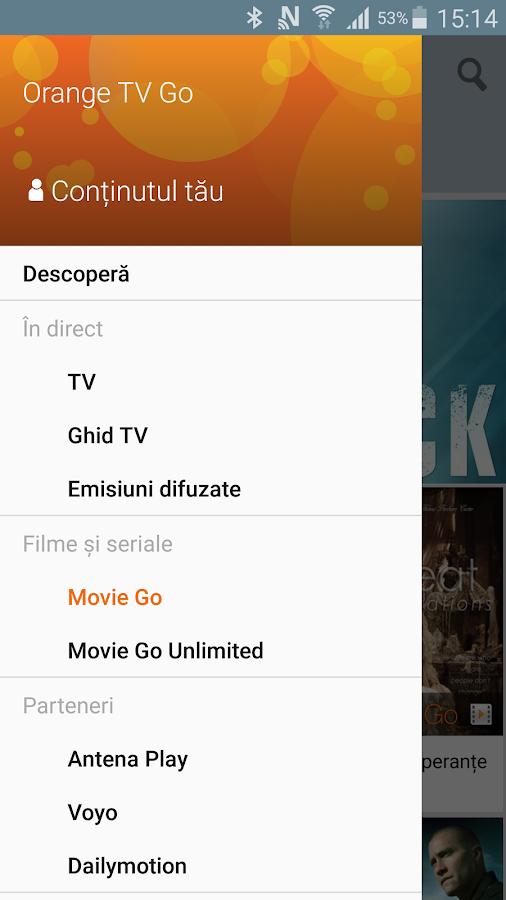 Orange TV Go- screenshot