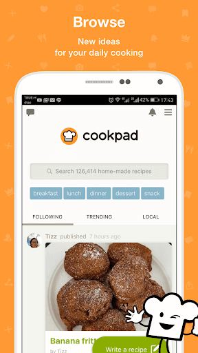 Cookpad - Recipe Sharing App 2.98.1.0-android screenshots 1