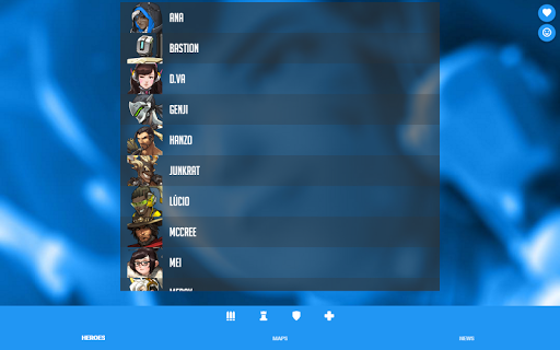 neatOW - Overwatch info app (apk) free download for Android/PC/Windows screenshot