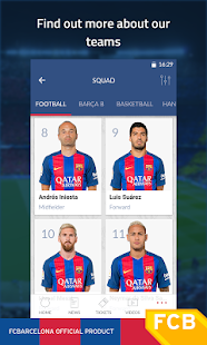 FC Barcelona Official App- screenshot thumbnail
