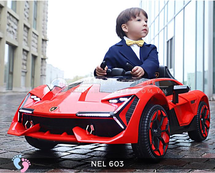 xe ô tô điện trẻ em Lamborghini NEL-603 5
