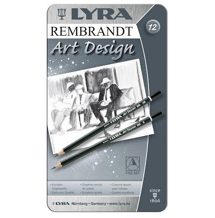 Skisspennor Art Design 12/fp