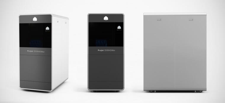 Лучший промышленный 3D-принтер: ProJet 3500 HDMax