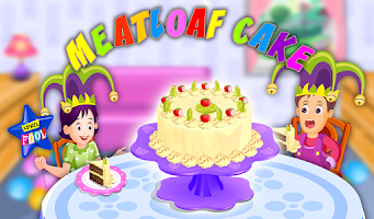 Screenshot of Meatloaf Cake Cooking