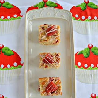 Strawberry Coffee Cake with Greek Yogurt.