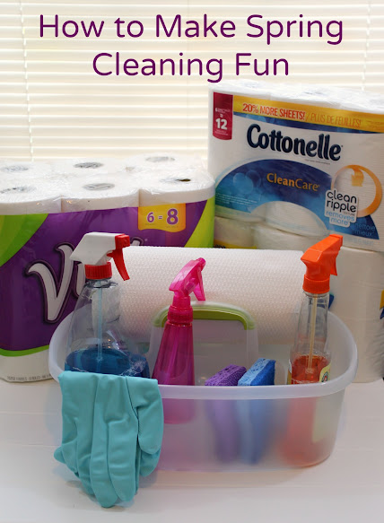 How to Make Spring Cleaning Fun for the Whole Family