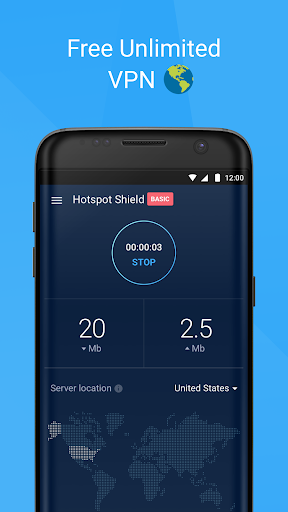 Hotspot Shield Basic - Free VPN Proxy & Privacy screenshot 3