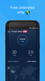 Hotspot Shield Basic - Free VPN Proxy & Privacy Screenshot