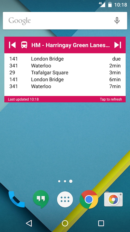 UK Bus Checker - Live Times- screenshot