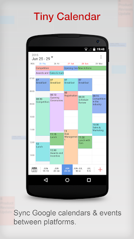 Tiny Calendar - Calendar App Screenshot