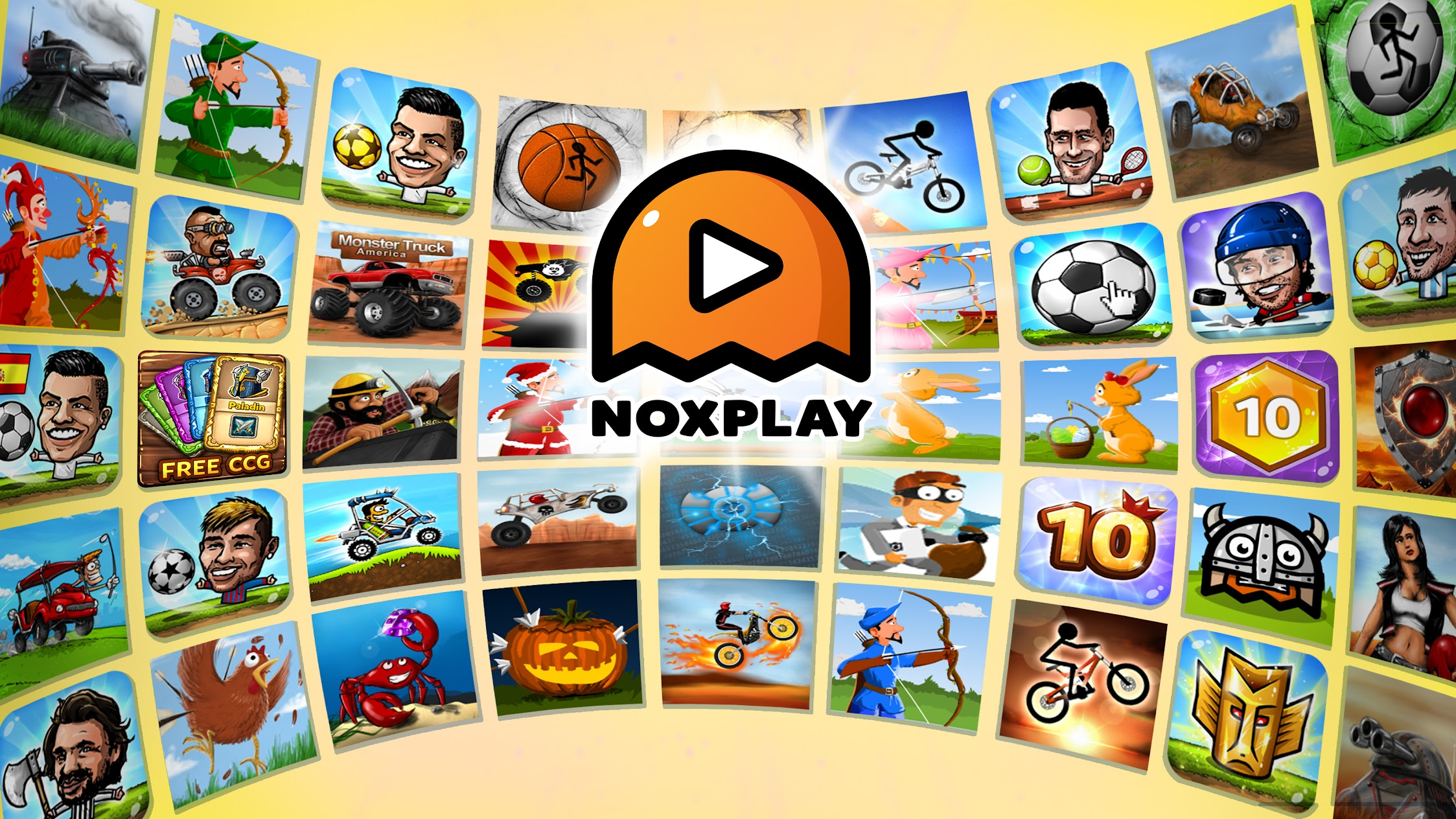 NOXPLAY - big head puppet sports for kids