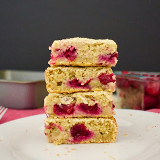Cranberry Oat Bars (Vegan, Gluten-Free, Oil-Free, Sugar-Free!)