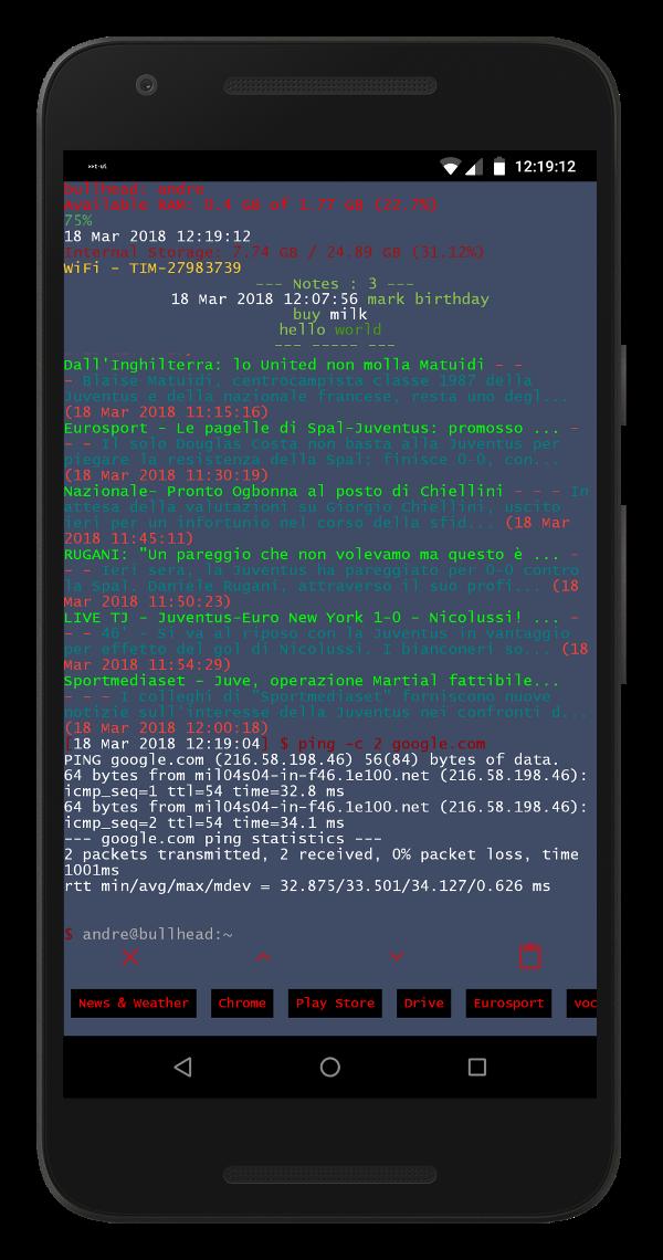 Ứng dụng biến Điện thoại thành Linux Launcher tha hồ Troll bạn bè,Người thân
