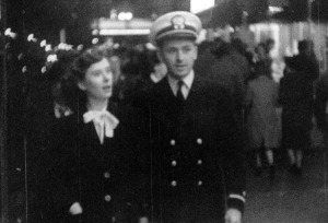 Martha and Lloyd, Washington, D.C., 1945