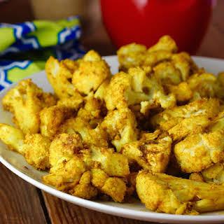 Indian Masala Roasted Cauliflower.