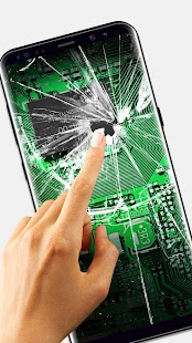 Broken Glass Wallpaper for Android - náhled