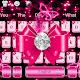 Luxury Diamond Pink Bow Keyboard Theme APK