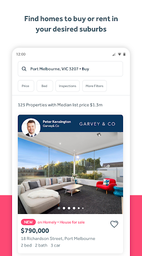 Homely.com.au - Real Estate & Property Search screenshot 2