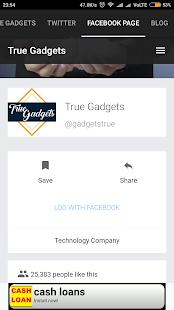 True Gadgets - náhled