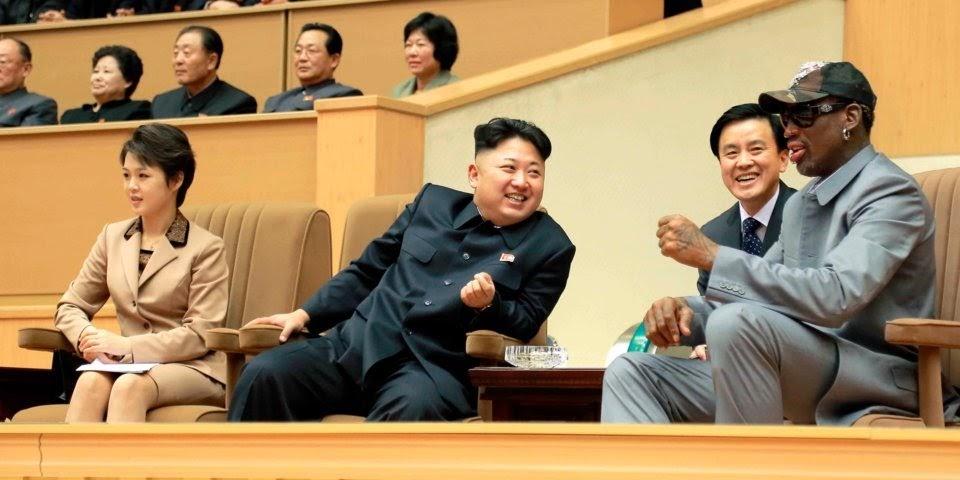 NBA star Dennis Rodman tells what changed Kim Jong Un's opinion about Trump