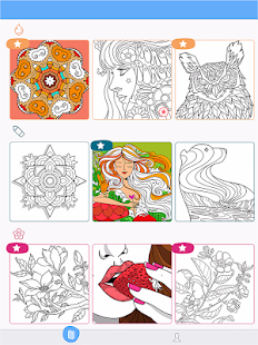 Paint by Number: Free Coloring Games - Color Book Screenshot