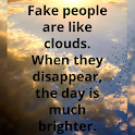 Fake People Quotes 4K icon