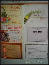 Photo: 2008.05.04 - Diploma de copil cuminte pt. Paul - oferita de ziarul EVZ la interventia Bunicutului