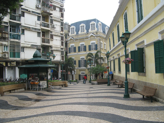 The streets of Old Macau