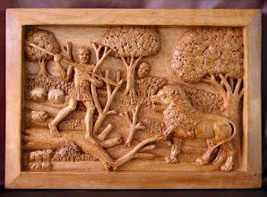Photo: Talla en madera. Woodcarving. Para conocer más sobre este artista ir al Blog: http://tallaenmadera-woodcarving-esculturas.blogspot.com