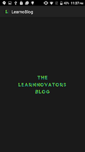 LearnoBlog- screenshot thumbnail