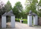 Schlosspark-Eingang