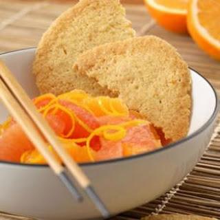 Orange Crisps with Citrus Fruit Salad