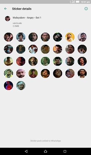 Malayalam Stickers for WhatsApp - WAStickerApps screenshot 6